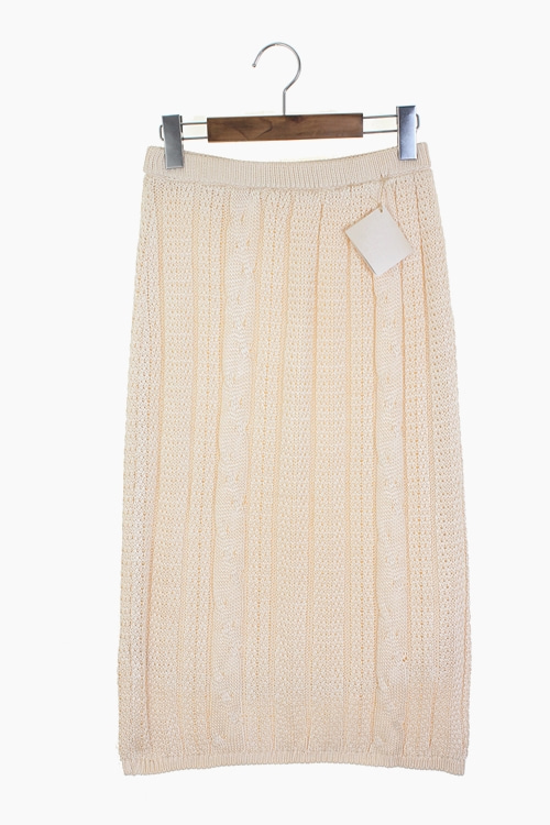 PURE SILK KNIT SKIRTS 리가먼트