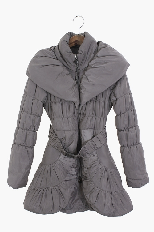 ITALY BELTED PADDING COAT 리가먼트