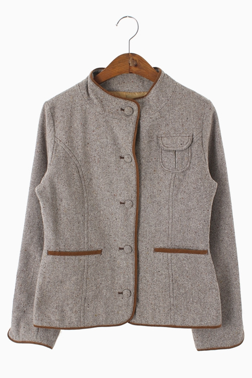 TWEED WOOL JACKET 리가먼트