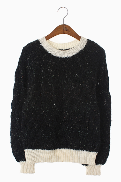 HOME-MADE PEARL KNIT TOP 리가먼트