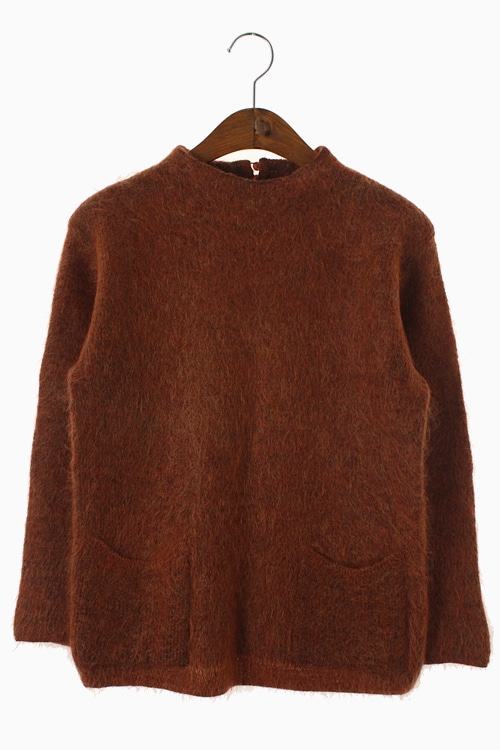 MOHAIR WOOL KNIT TOP 리가먼트