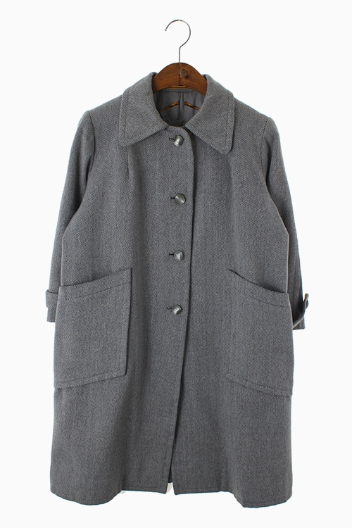 FRANCE FABRIC TAILORED WOOL COAT 리가먼트