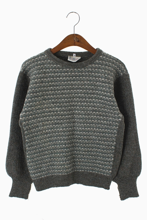 PURE BRITISH WOOL KNIT TOP 리가먼트