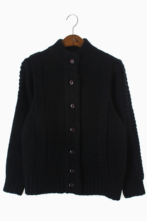 HEAVY WOOL KNIT JACKET 리가먼트