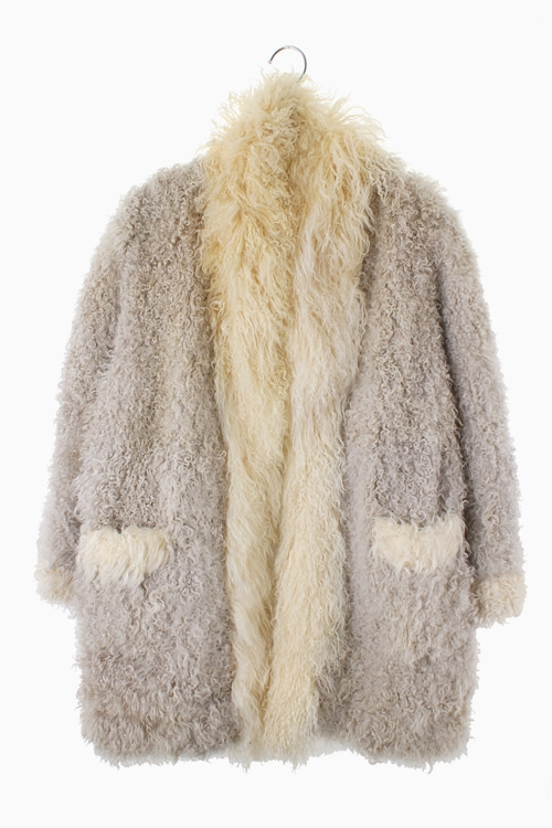 SHEEPSKIN FUR OVER COAT 리가먼트