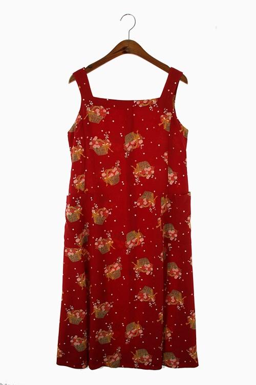 ROMANTIC PATTERN DRESS 리가먼트
