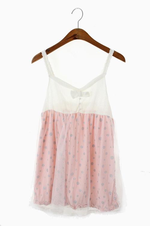 MESH LAYERED DRESS 리가먼트