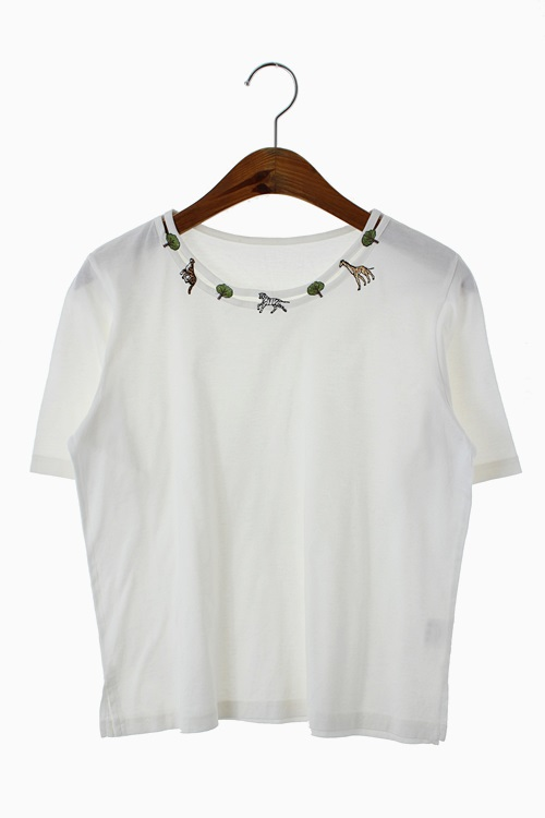 ANIMAL EMBROIDERY TOP 리가먼트