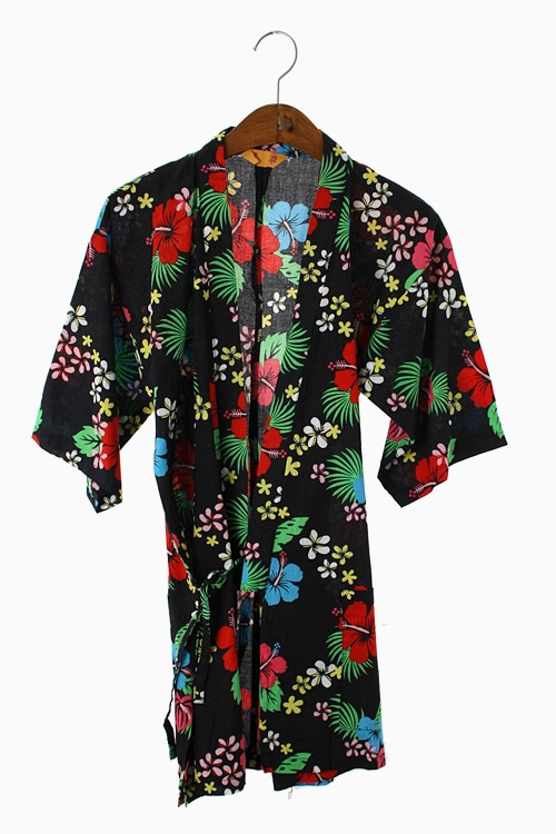 FLORAL COTTON YUKATA 리가먼트
