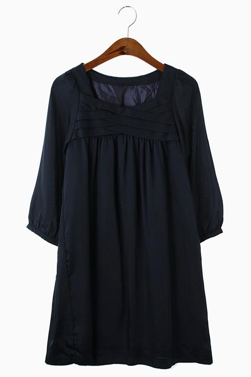 SILKY POLY DRESS 리가먼트