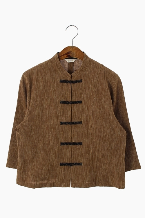 NATURAL COTTON CHINESE SHIRT 리가먼트