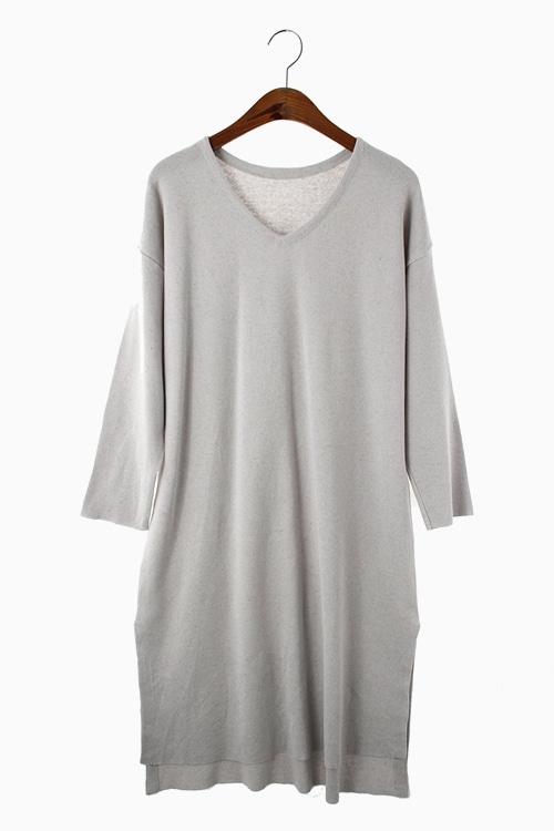 SLIT KNIT DRESS 리가먼트