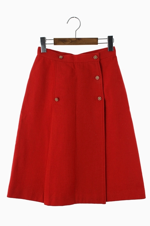 WOOL LAP SKIRT 리가먼트