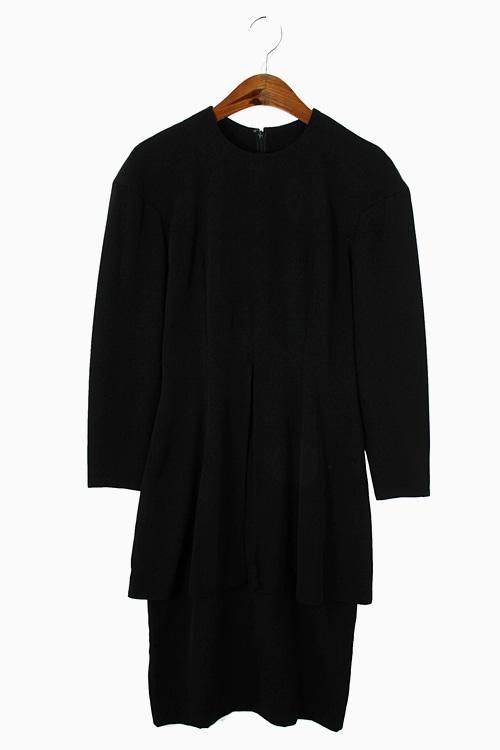 UNIQUE ACETATE BLEND DRESS 리가먼트