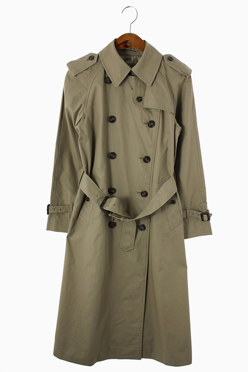 PURE COTTON DOUBLE TRENCH COAT 리가먼트