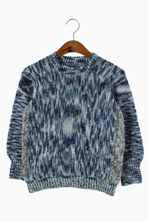 HAND-MADE WOOL KNIT TOP 리가먼트