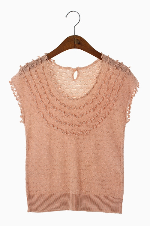 COTTON KNIT TOP 리가먼트