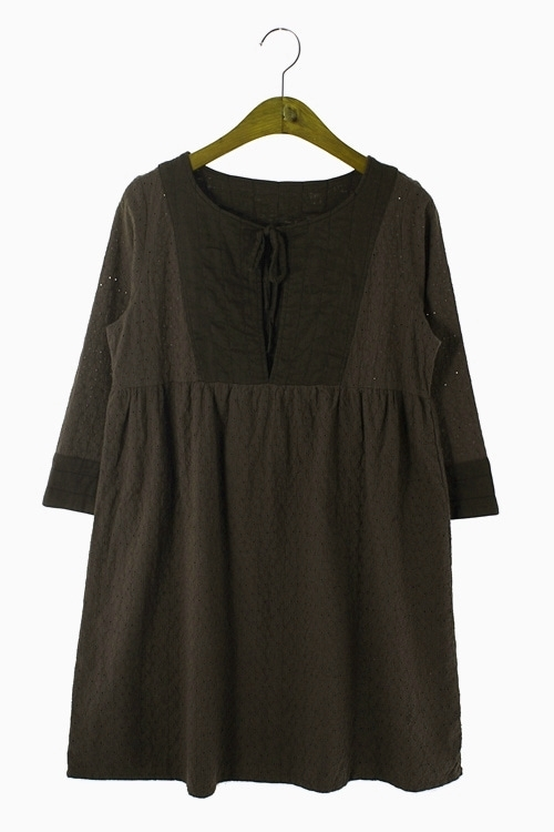 NATURAL COTTON DRESS 리가먼트