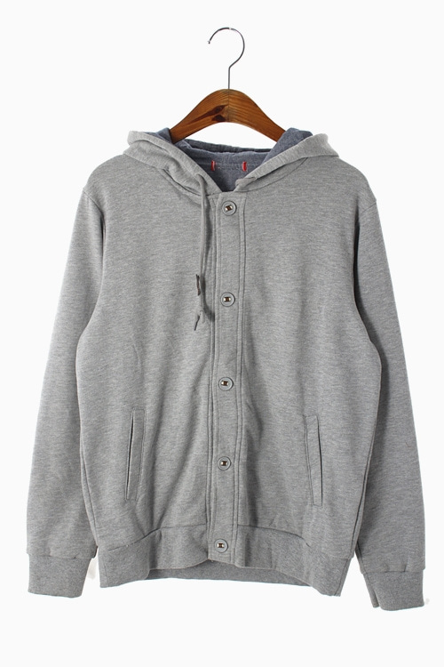 COTTON HOODY TOP 리가먼트