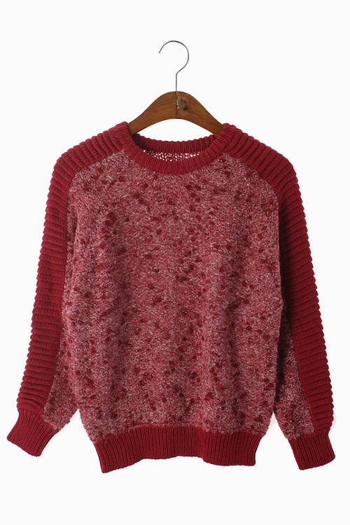 WOOLLEN KNIT TOP 리가먼트