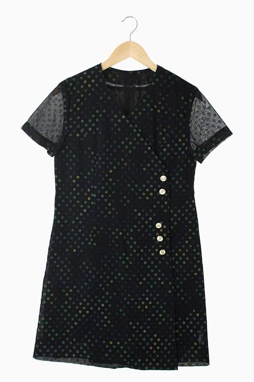 POLY PATTERN DRESS 리가먼트